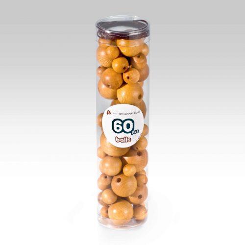 balls legno giallo oro 01