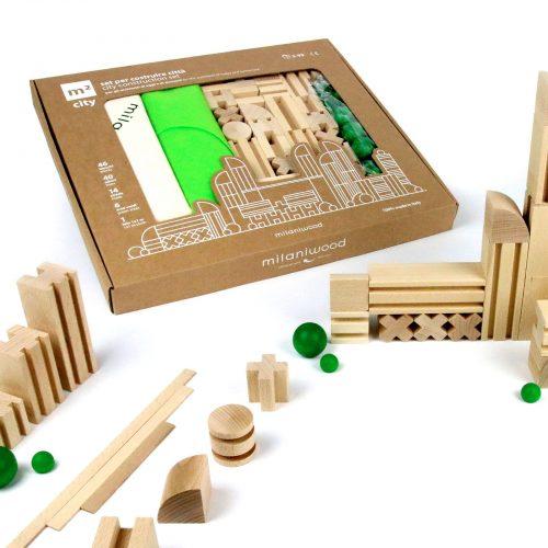 m2city gioco costruzioni in legno 01