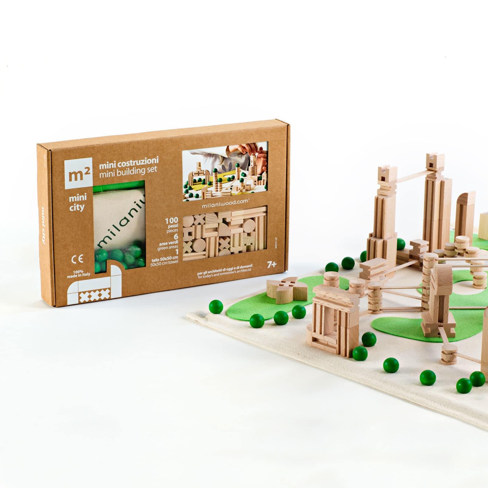 m2citymini gioco costruzioni in legno 01