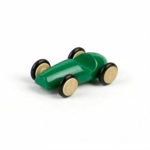 macchinina in legno verde